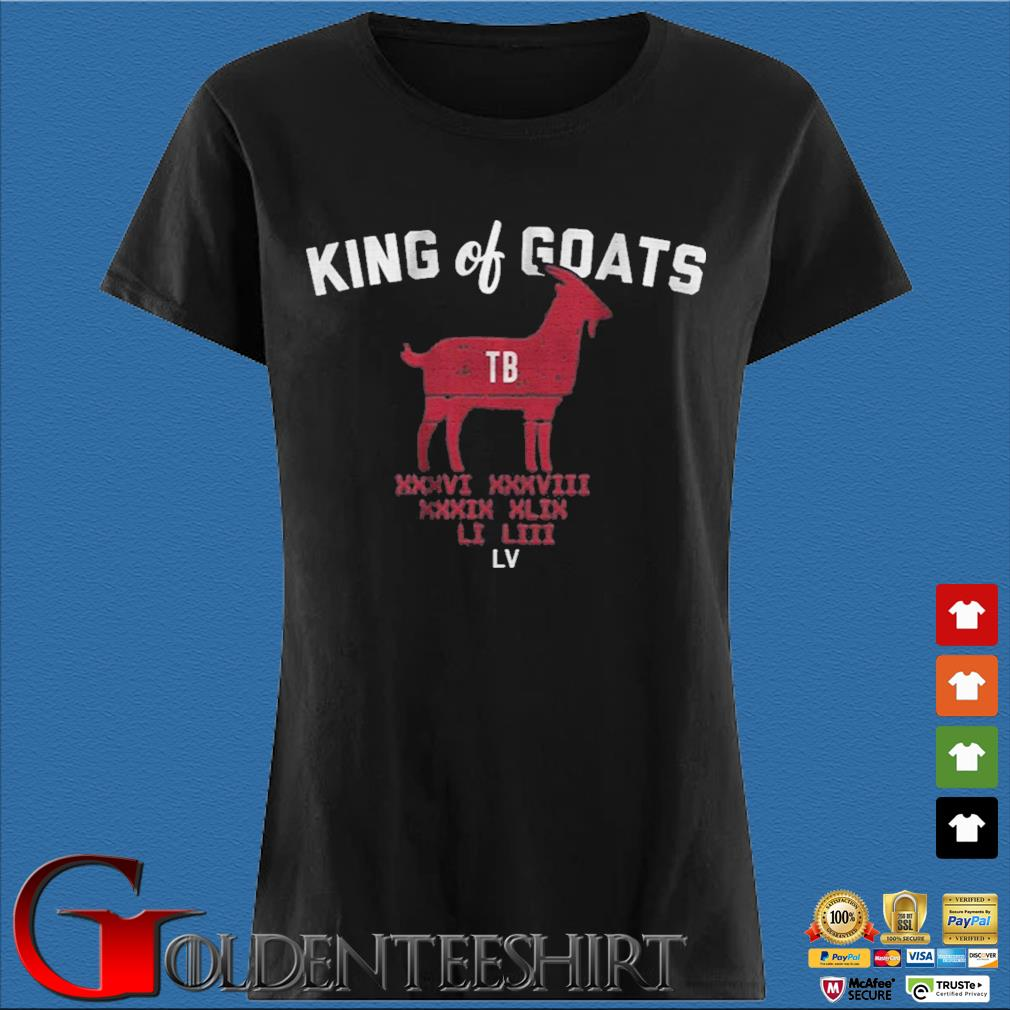 Tom Brady king of goats s Den Ladies