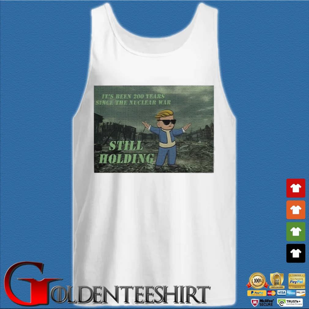 Trump Wallstreetbets Still Holding Shirt Tank top trắng